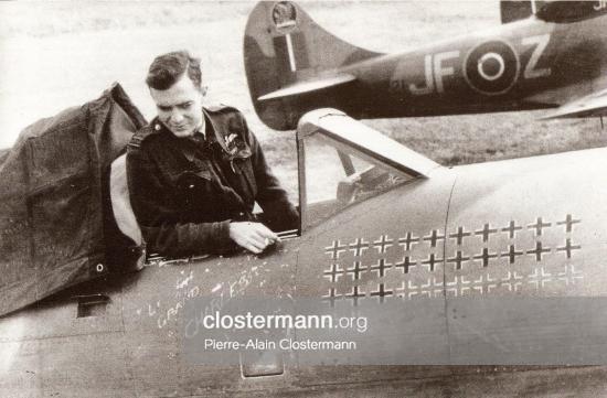 La première victoire de Pierre Clostermann