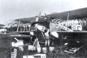 Janvier 1925 - Un Bréguet XIV à Sao Paulo