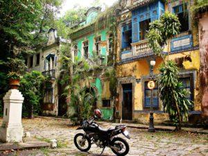 Les tristes vestiges du Largo do Boticario - Rio de Janeiro